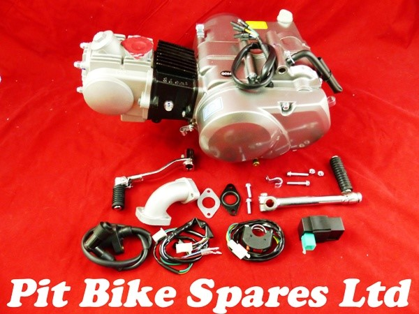 New GN125 BD125cc 4 Speed Manual Pit Bike Engine /& Complete Wiring Loom