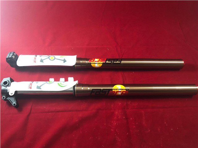 PIT BIKE SUPERMOTO DRILLED SPINDLE SP FORKS PLEASE CHECK SIZE READ LISTING