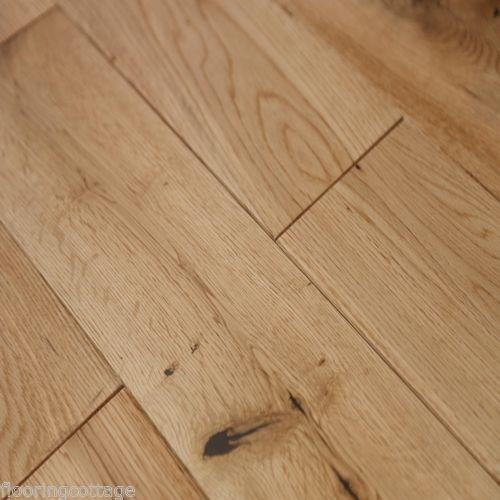 Real solid oak lacquered finish 18mm x 150mm hardwood for Real solid wood flooring