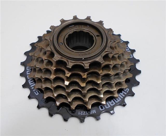 Sporting Goods Shimano Mf-tz21 14-28 Teeth 7 Speed Freewheel Choice Materials Bicycle Components & Parts