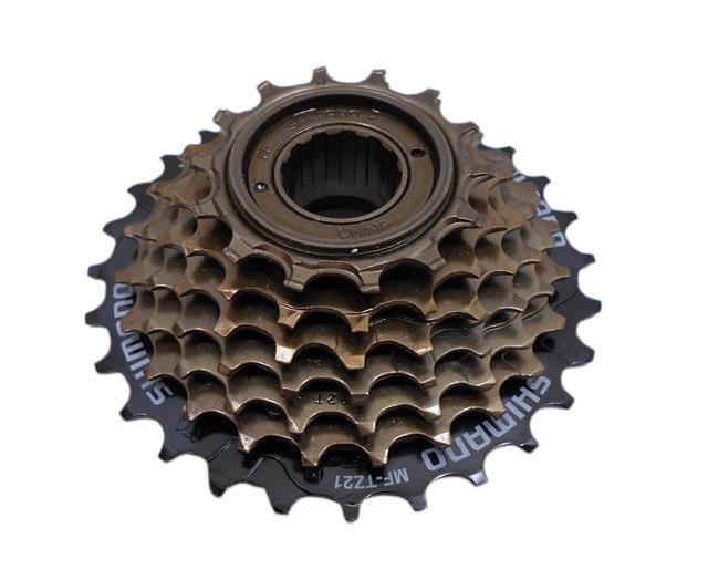 KMC chain bike block screw on ratio 14-28 Shimano 6 speed freewheel cycle