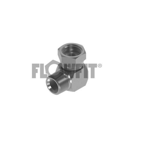 FlowFit hydraulique nptf mâle x nptf fixe femelle étendu