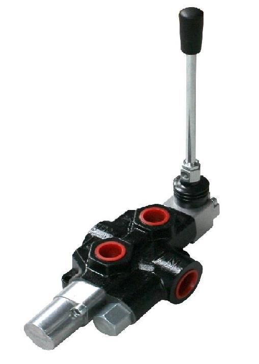 Hydraulic Hand Control Valve : Flowfit hydraulic log splitter auto kick out control valve