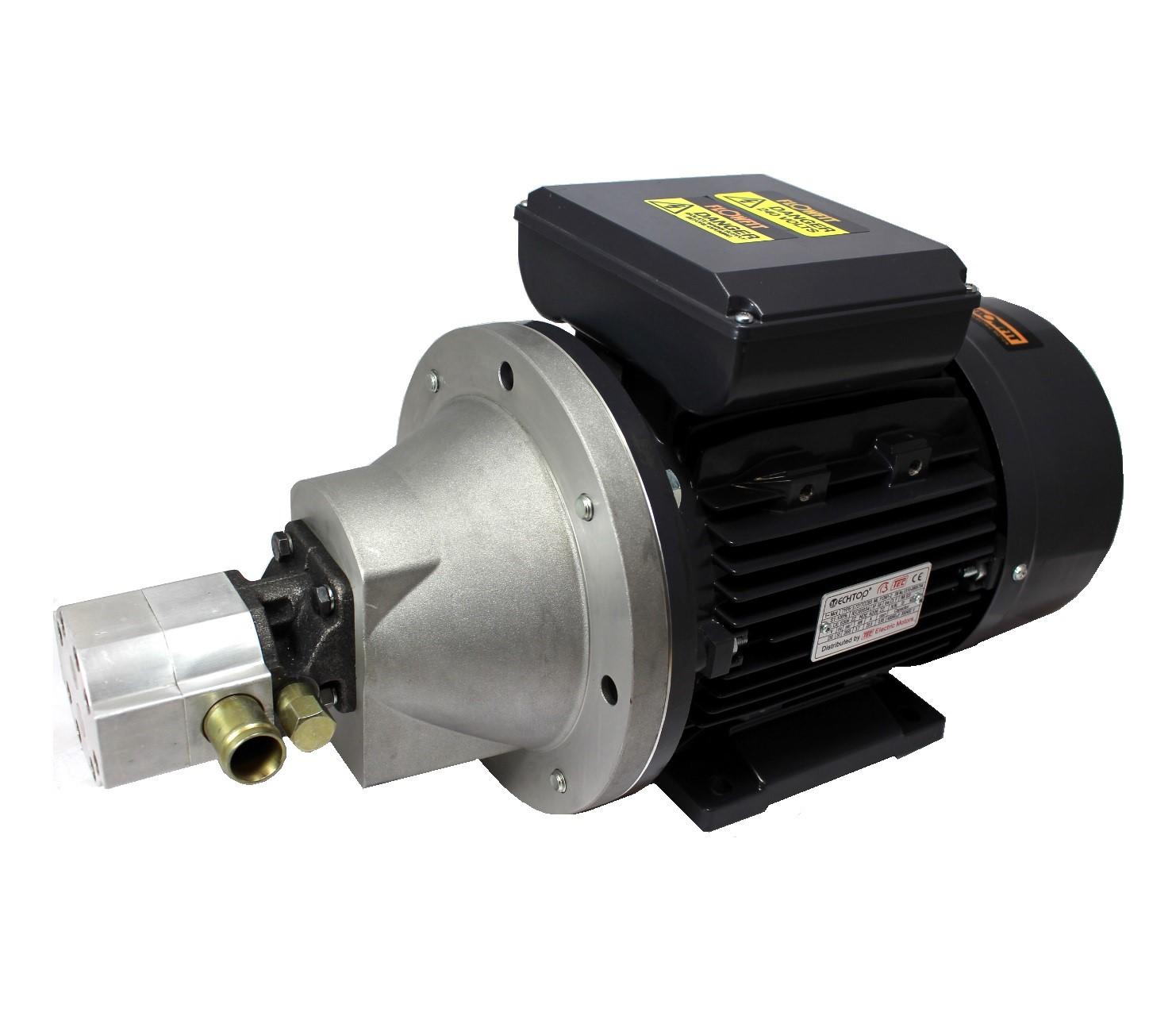 Hydraulic electric motor pump set 3 7kw 240v single phase for Hydraulic pump with motor