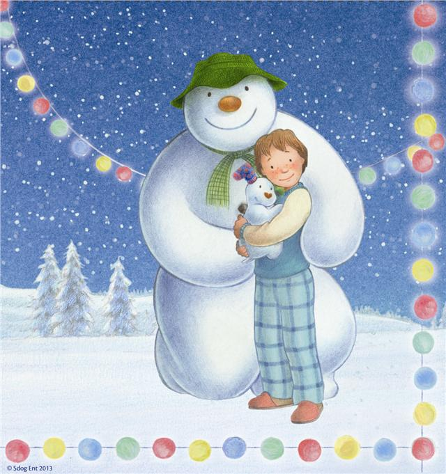 Image result for the snowman and snowdog