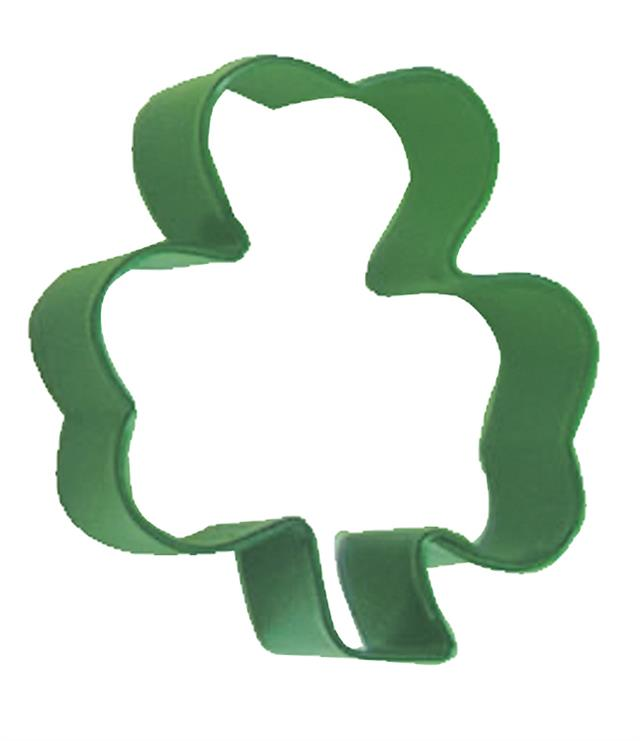 Shamrock Three Leaf Clover Shape Cookie Cutter Biscuit Pastry Fondant  AN13