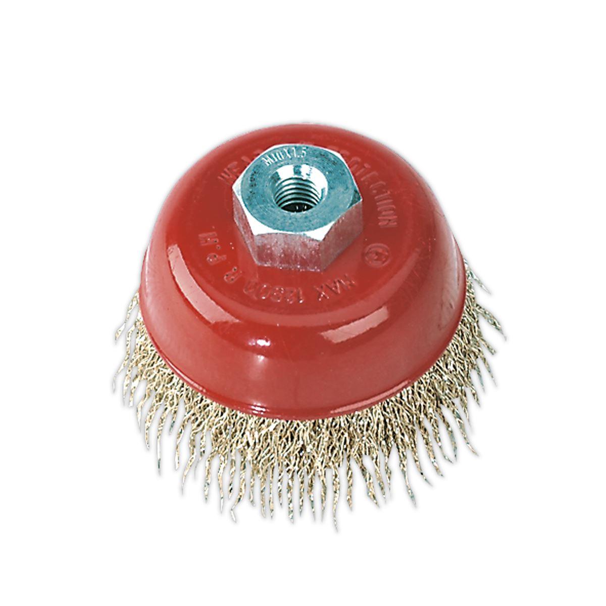 Lessmann bricolage cylindre Brosse 28 mm 0.30 Fil d/'acier LES54130107