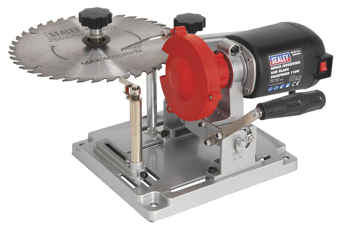Sealey SMS2004 Multi-Purpose Sharpener Bench Mounting 65W Tool Garage Workshop