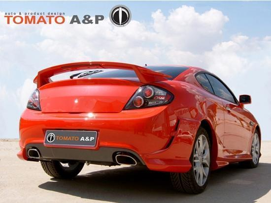 for hyundai coupe 2007 - 2009 tomato a&p full body kit | ebay