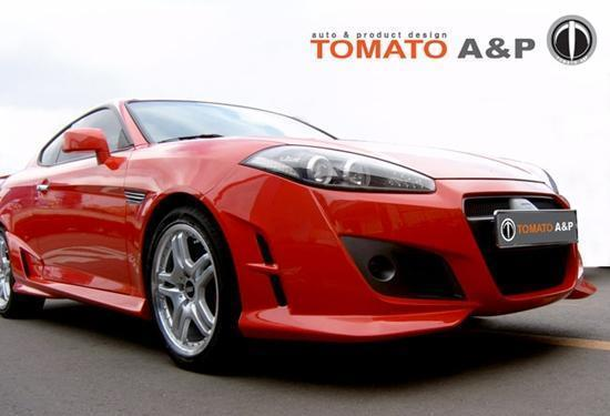 for hyundai coupe 2007 - 2009 tomato a&p body kit front bumper | ebay