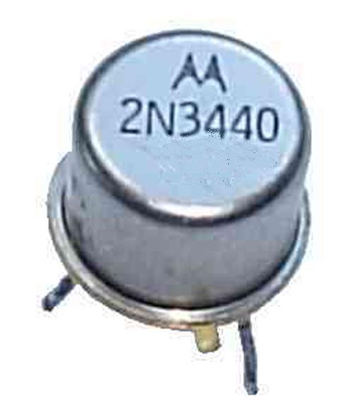 TO-39 NOS ** NPN lot of 2 ** Fairchild 2N3440 Bipolar Transistor 250V,1A