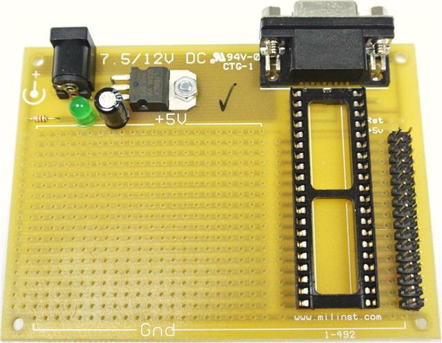 Arduino Nano 8 Microcontroller IC BASIC STAMP 5 I//O Pins Electronics Project