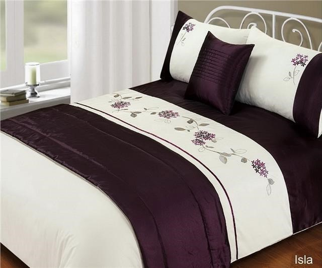5 Piece Bed in a Bag Bedding Duvet Quilt Cover Set, Double ...