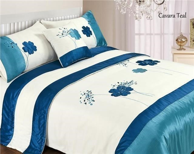 5 piece bed in a bag bedding duvet quilt cover set double king size ebay. Black Bedroom Furniture Sets. Home Design Ideas