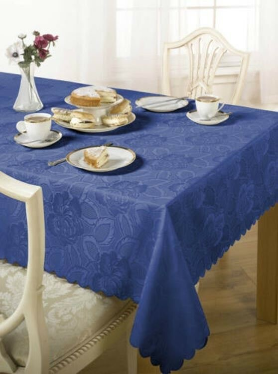 Damask-Floral-Jacquard-Tablecloth-in-Various-Colours-Shapes-amp-Sizes
