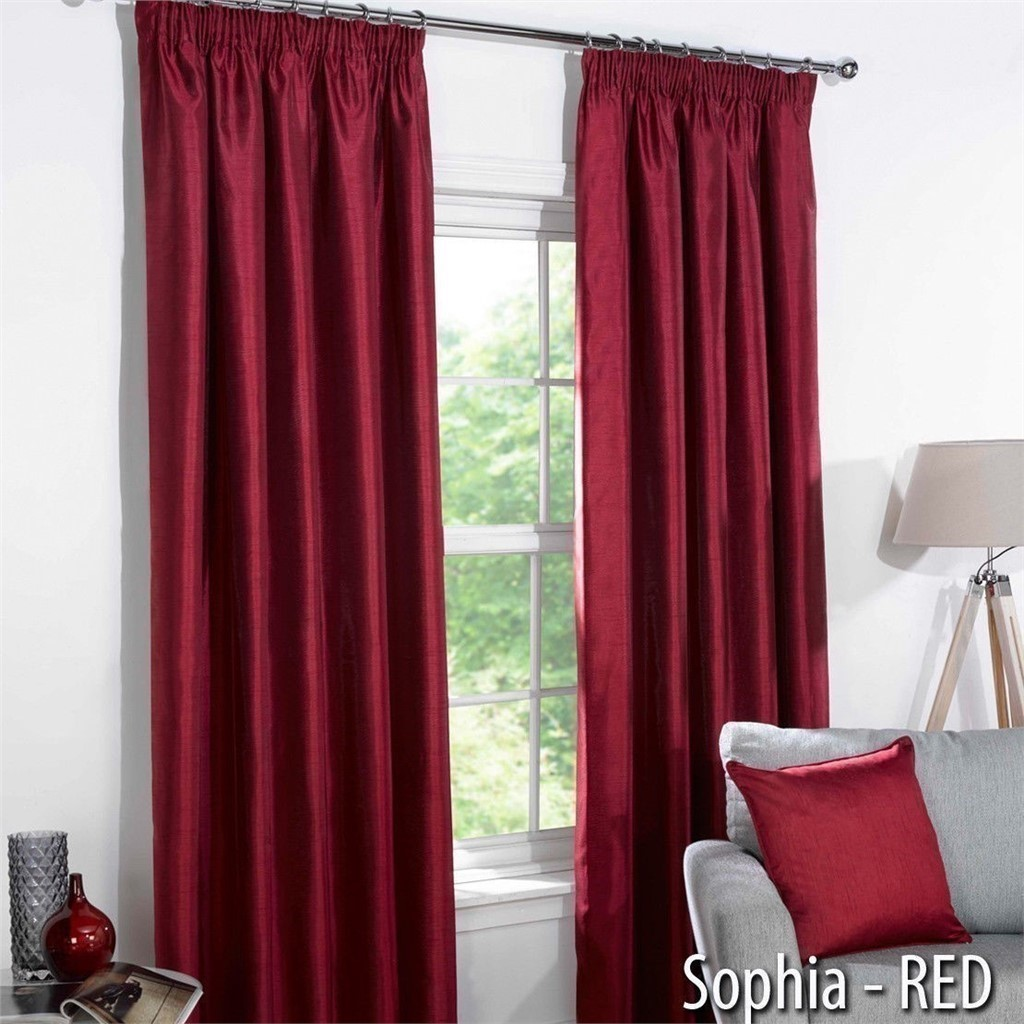 Reduced to clear thermal blackout plain curtains to for Style my bedroom