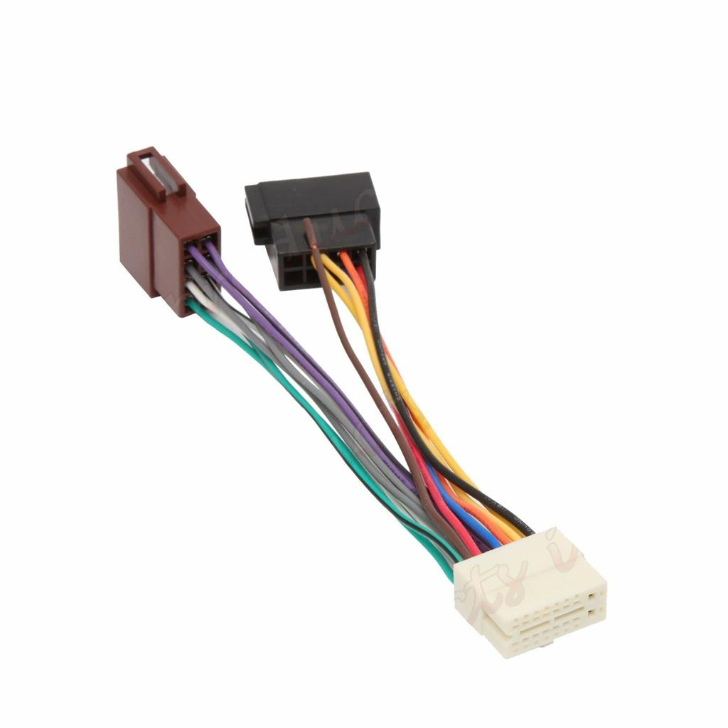 details about clarion 16 pin car stereo radio iso wiring harness connector adaptor loom cable  clarion 16 pin car stereo radio wiring wire harness ebay #1