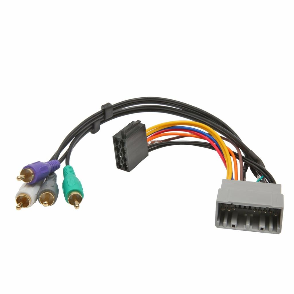 Active Car Stereo Radio ISO Wiring Harness Loom for Chrysler / Jeep / Dodge    eBay [ 1024 x 1024 Pixel ]