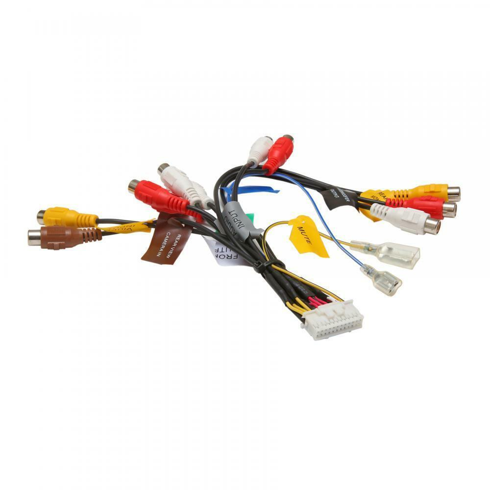 Rca Pre Out Phono Cable Lead Wiring Harness Connection For