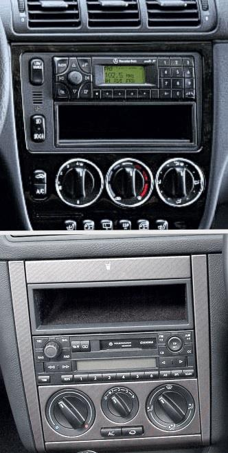 Vw Volvo Cd Radio Stereo Facia Fascia Surround Fitting Kit Adaptor Panel Plate
