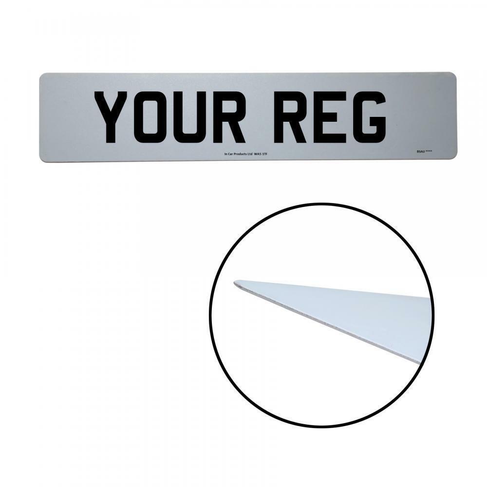 Inex Daihatsu Copen Rear MOT UK Road Legal Car Reg Registration Number Plate