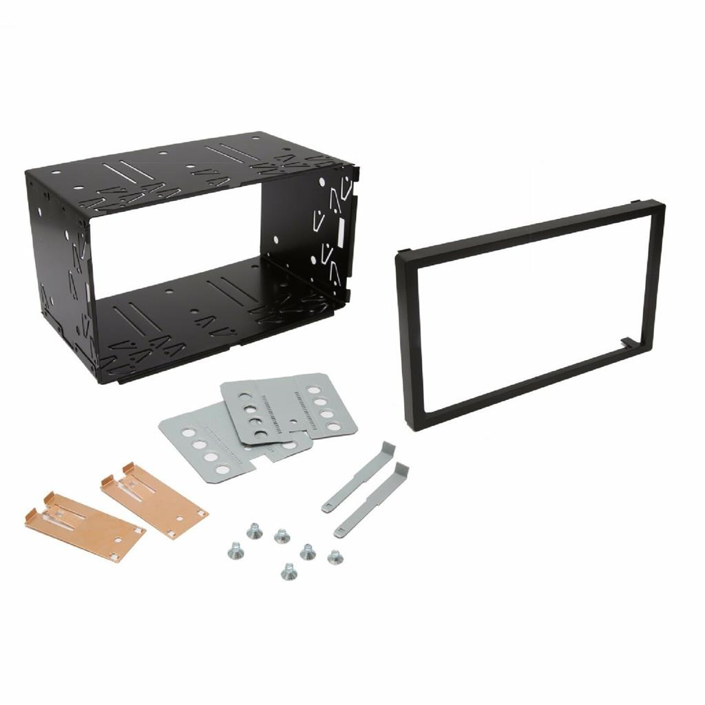 Inex Double DIN Car Facia Kit for Seat Leon Car compatible with Audio Stereo Radio Trim