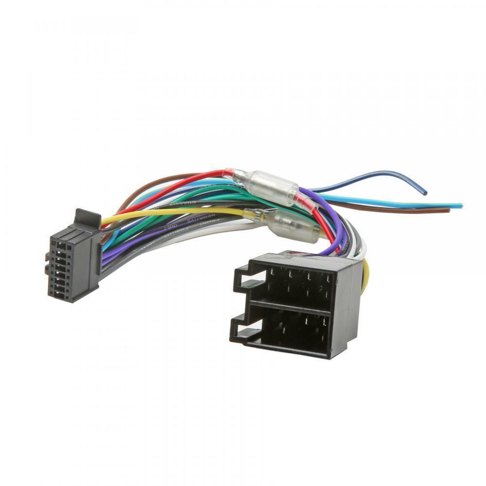 Jvc AUTO ESTÉREO RADIO cable arnés de cableado enchufe 16 Pin-Reino Unido Vendedor