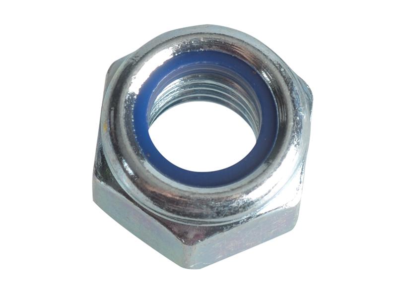 Dadi esagonali metriche , completo di 8 in acciaio zincato, M14, 14 mm, confezione da 25 dadi esagonale
