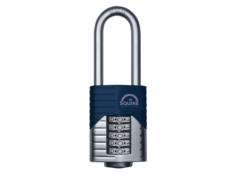 Henry Squire Close Shackle Heavy Duty Combination Security Padlock Pad Lock 60mm