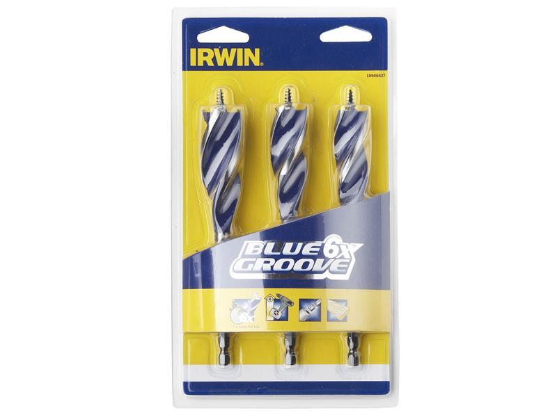 Irwin 6X Blue Groove Wood Drill Bit 20mm