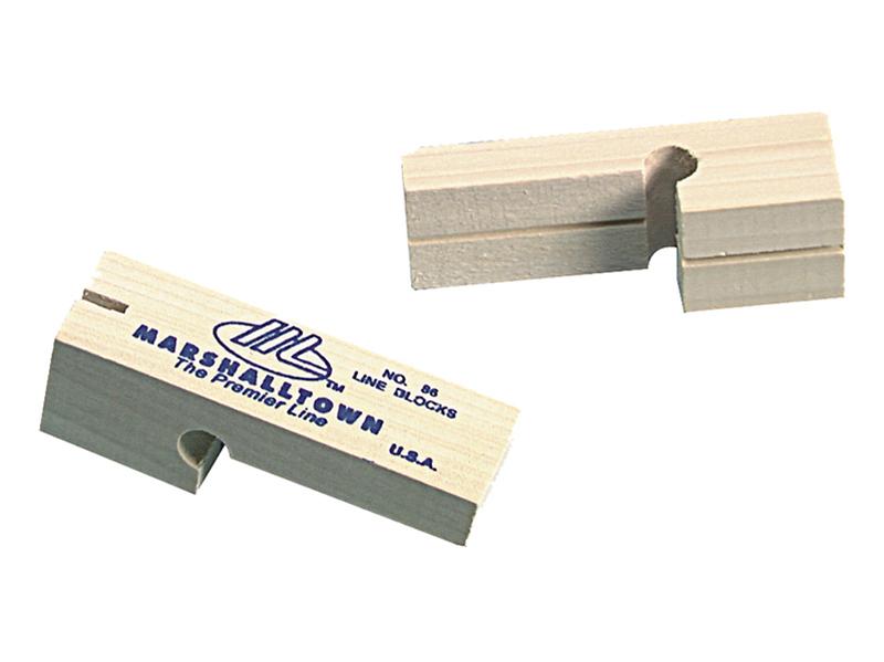 Marshalltown M//T86 Hardwood Ligne blocs x 2