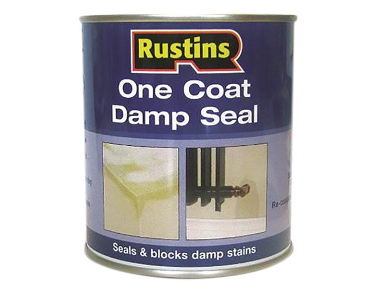 Marvelous Interior Damp Seal Paint Part - 9: Rustins One Coat Damp Seal 500ml Interior Damp Proof Paint DAMS500