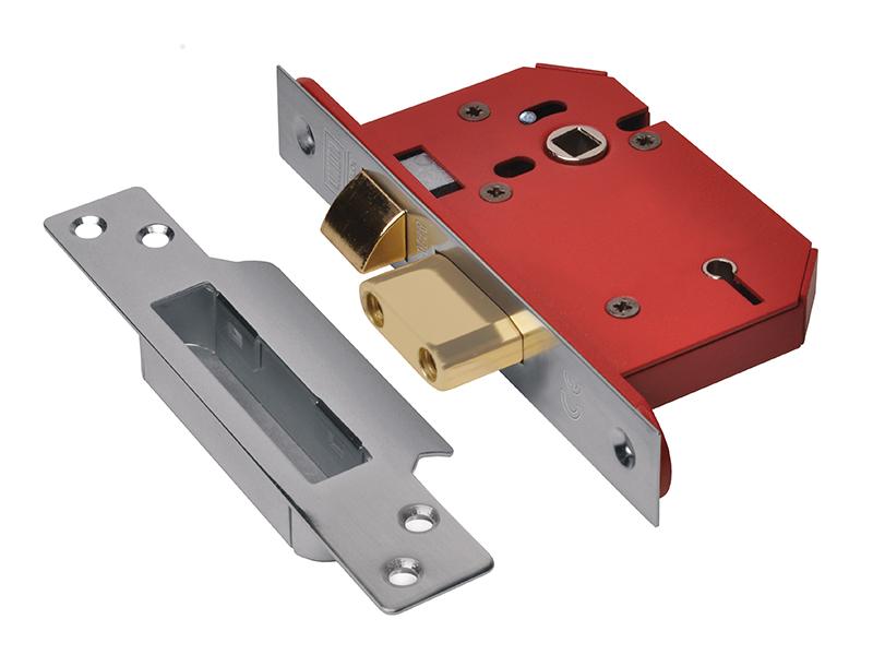 Yale Locks Yalp124pb P124 Door Push Bolt Brass Finish Visi