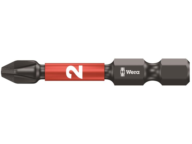 Wera WER073956 851//4 Impaktor Insert Bit Phillips PH2 x 50mm Carded