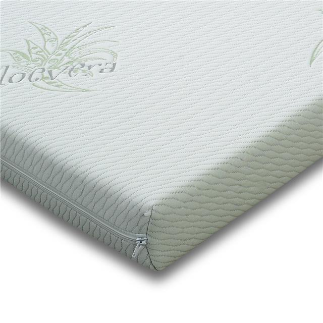 Custom Made Zip Cover Aloe Vera Memory Foam Topper For Electric Bed Choose  Sizes