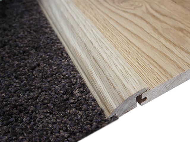Solid Oak 'wood to Carpet'