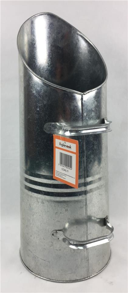15LITRE LARGE HEAVY DUTY METAL BUCKET GALVANISED FIRE COAL TOP CHOICE