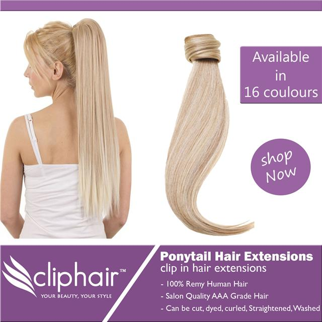 Clip in ponytail hair extensions 100 real human hair extension ponytail clip in remy human hair extensions pmusecretfo Gallery