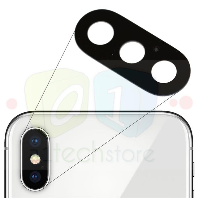 sports shoes 39bd1 154ef Details about Apple iPhone X Genuine Replacement Rear Glass Camera Lens  Repair Part Adhesive