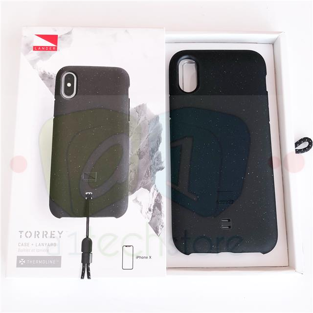 pretty nice e894a 41b48 Details about Genuine Apple Recommended Lander Torrey Phone Black Case For  iPhone X RRP £35