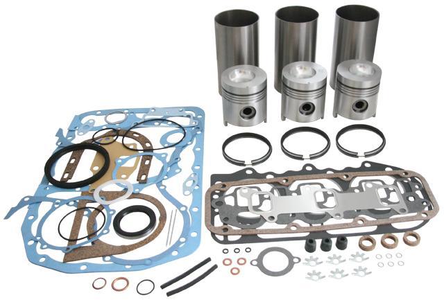 ford 3000 3600 3900 tractor engine rebuild kit ebay rh ebay com Ford 800 Tractor Wiring Harness Ford 1500 Tractor Wiring Harness