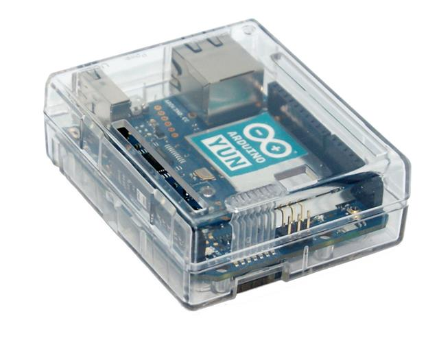 Arduino yun case enclosure transparent clear computer box