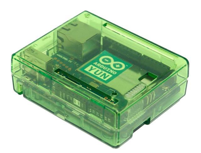 Arduino yun caja verde transparente ordenador ebay