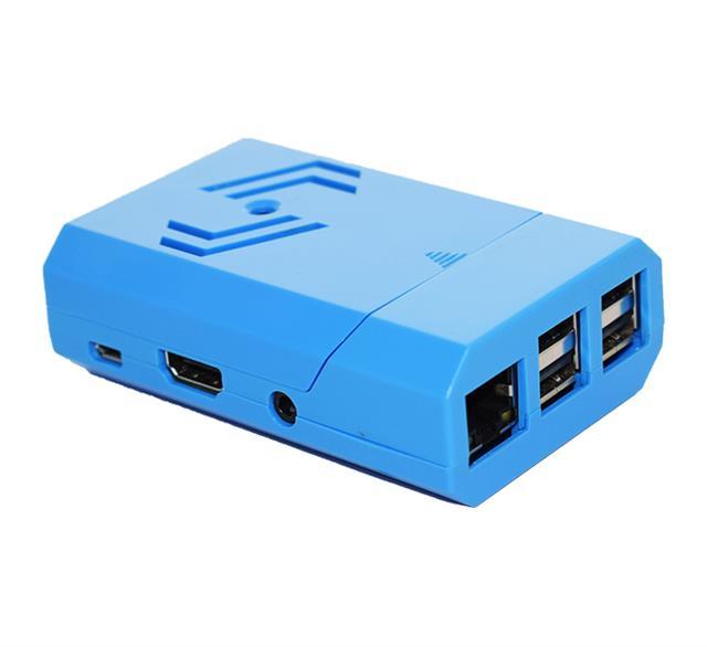 PiShell White and Camera Premium Protective Case for Raspberry Pi 3B