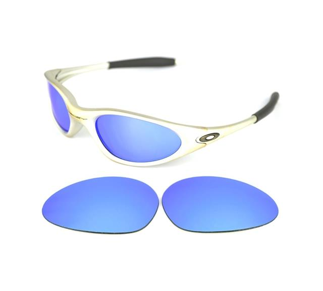 oakley minute blue sunglasses  similar items. new polarized black replacement lens for oakley minute 1.0 sunglasses