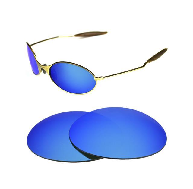 About Sunglasses New Ice Details Polarized For Wire Custom Blue E Oakley 1 0 Lens FKc1JTl