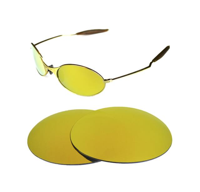 NEW POLARIZED BLACK REPLACEMENT LENS FOR OAKLEY E-WIRE 1.0 ...
