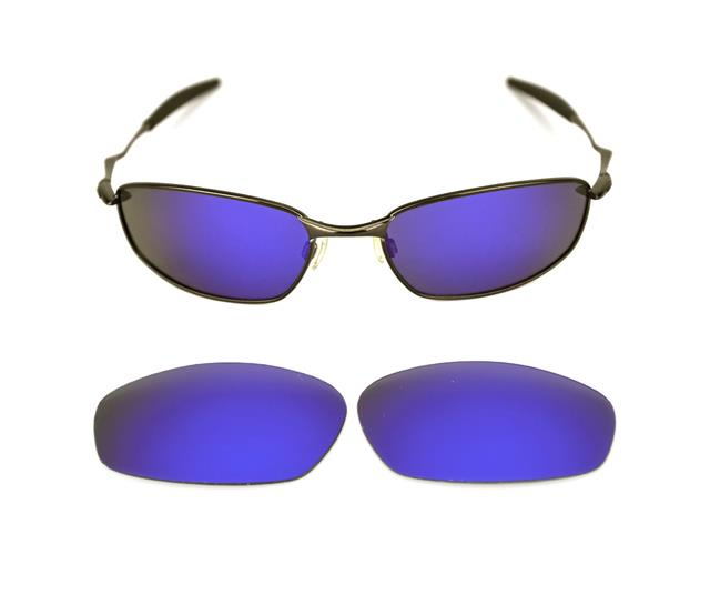 NEU Polarisierte individuelle lila Linse für Oakley Backenbart Sonnenbrille eyuVYx5Rfg