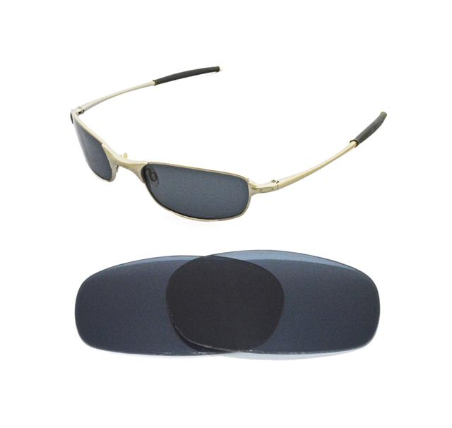 New Polarized Black Replacement Lens For Oakley Square