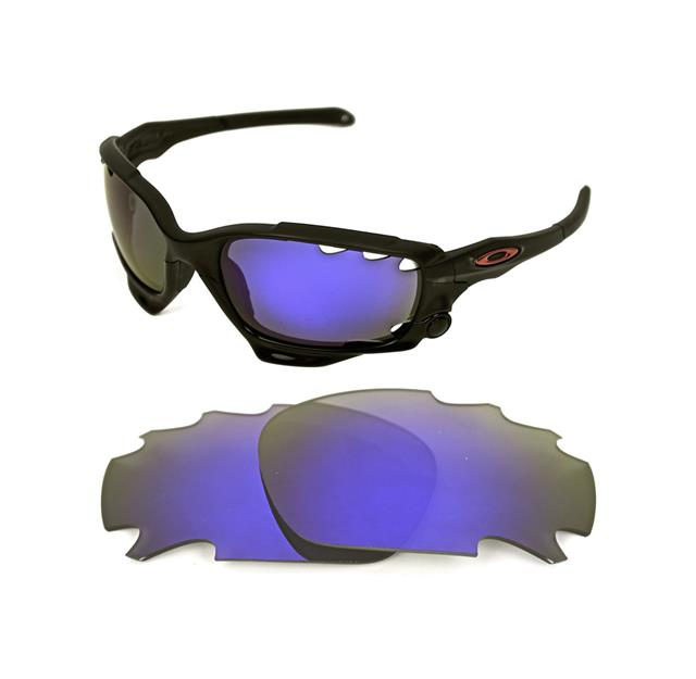1a64a13728 NEW POLARIZED VENTED VIOLET CUSTOM LENS FOR OAKLEY JAWBONE RACING JACKET